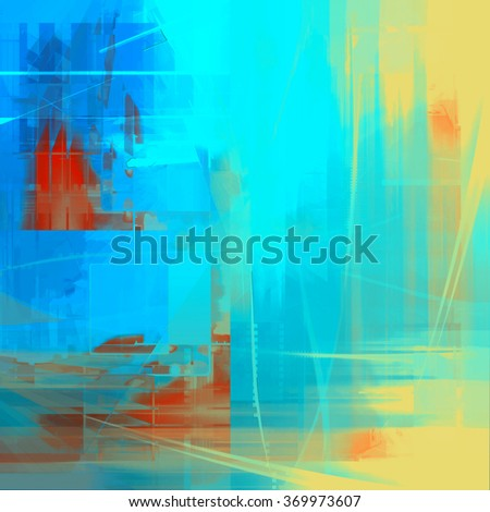 Abstract  painted stylized texture - stock photo