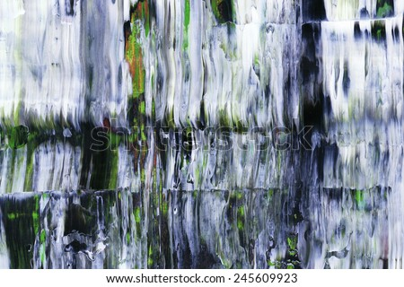 Abstract painting detail - stock photo