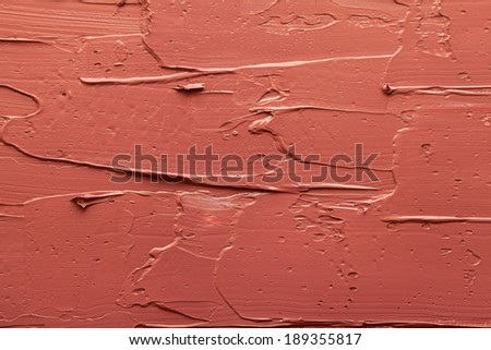Abstract paintings of brown colors embossed decoration - stock photo