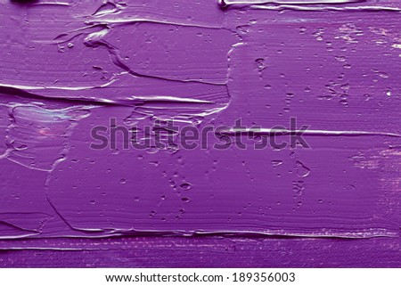 Abstract paintings of purple colors embossed decoration - stock photo