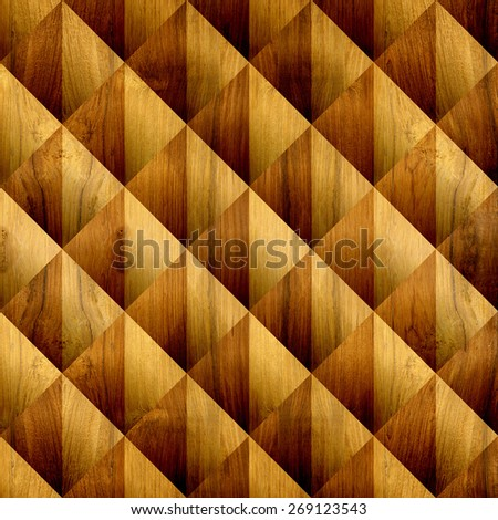 Abstract paneling pattern - checkered decorative pattern - Interior wall panel pattern - Interior Design wallpaper - seamless background - tile pattern - wall tile - wood texture - wood floors - stock photo