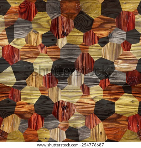 Abstract paneling pattern - seamless background - hardwood paneling - stock photo