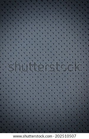 Abstract pattern black leather dot for background - stock photo