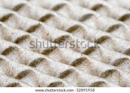 Abstract pattern of recyclable paper - stock photo