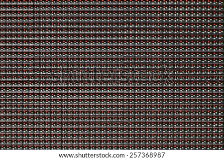 abstract pattern of rgb led background - stock photo