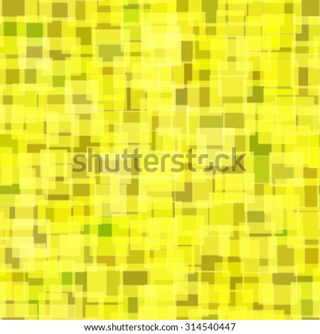 Abstract pattern Seamless geometric wallpaper background Raster illustration yellow - stock photo