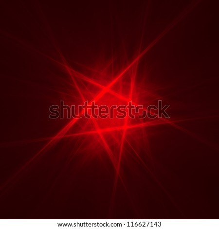 abstract pentagon background on dark - stock photo