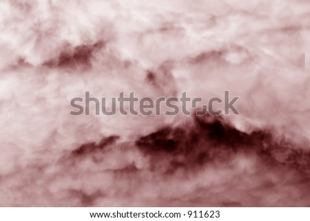 Abstract photo of cotton candy - stock photo