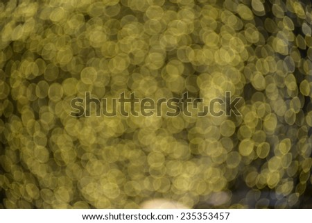 Abstract picture of the blurred lights from the christmas tree - stock photo