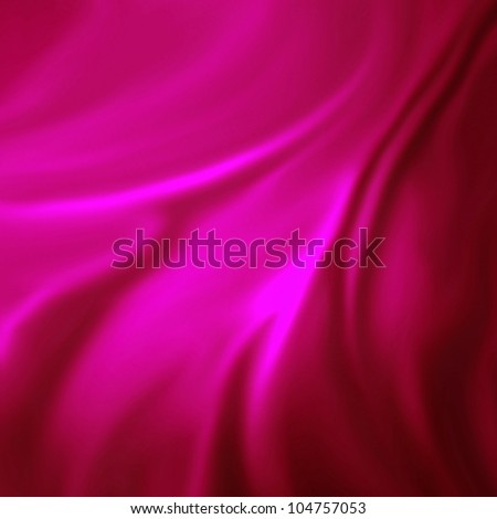 abstract pink background luxury cloth or liquid wave or wavy folds of grunge silk texture satin velvet material or pink luxurious valentine background or elegant wallpaper design, pink background - stock photo