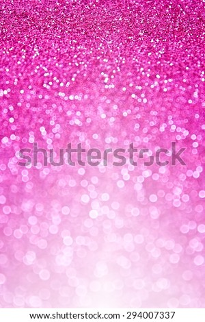 Abstract pink glitter sparkle background or glittery party invite - stock photo