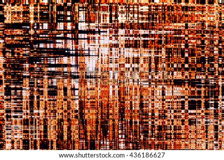 Abstract pixel art background - stock photo