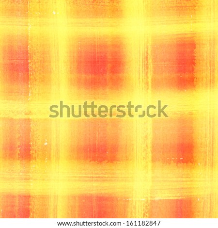 Abstract plaid watercolor. Hand painted brush strokes background  - stock photo
