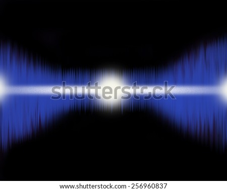 Abstract pulse image that can be used as a medical or technical background. - stock photo