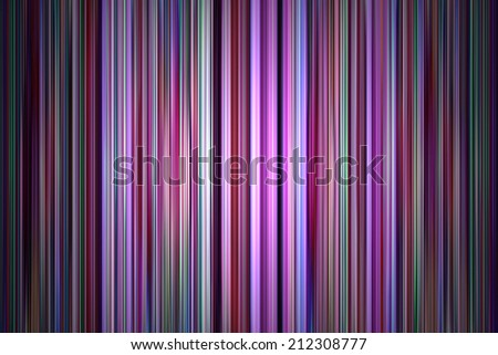 Abstract purple and green stripes background - stock photo