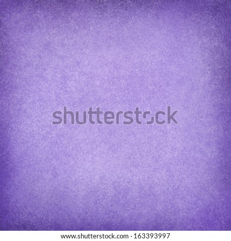 abstract purple background, soft lavender Easter color for use in brochure ads or web design backgrounds, faint vintage grunge background texture and darker border with light blank center for text - stock photo