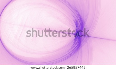 Abstract Purple Pink White Background with Lines Curves Lights - stock photo