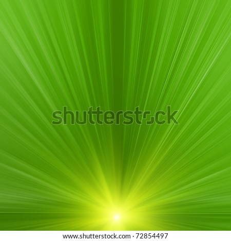 Abstract rays. Image based on my own 3d scene - stock photo