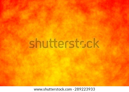 Abstract red and yellow fire sun blazing background - stock photo