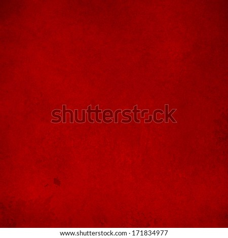 abstract red background Christmas color, soft faded shabby sponge vintage grunge background texture design, graphic art use in product design web template brochure ad, red paper illustration layout - stock photo
