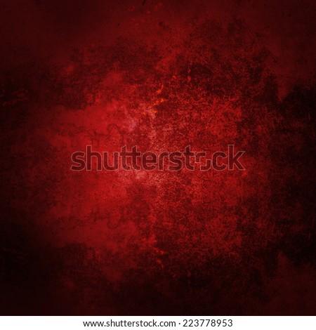 Abstract red background. Dark red grunge textured wall background. Red background for Christmas. - stock photo