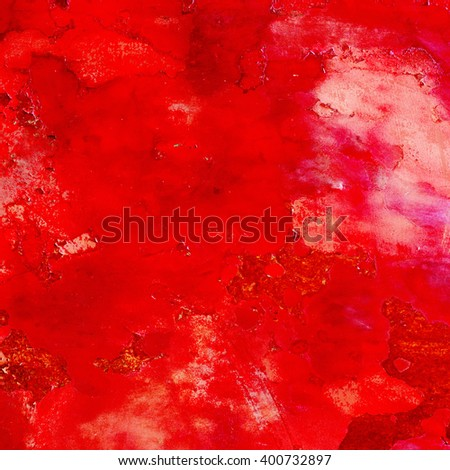 abstract red background of elegant dark blue vintage grunge back - stock photo