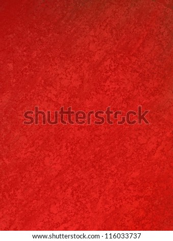 abstract red background of vintage grunge background texture design of elegant antique paint on wall for holiday Christmas background paper; or web background templates; grungy old background paint - stock photo