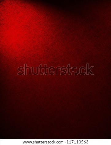 abstract red background or black background paper, Christmas color, dramatic contrast and vintage texture background grunge, dark border with corner spotlight, elegant formal background classic color - stock photo