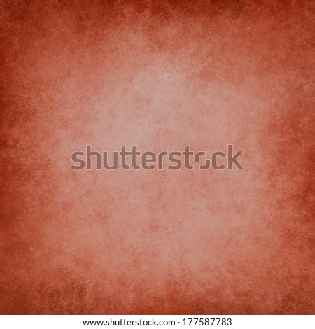abstract red background white faded center light spotlight, vintage grunge background texture red paper layout design, warm rich Christmas elegant background, faded leather or leathery illustration - stock photo