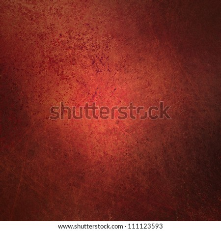 abstract red background with retro vintage grunge background texture design with dark antique paint or book cover or Christmas paper or web background templates, grungy old background red wallpaper - stock photo