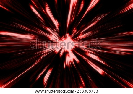 abstract red  color background with motion blur - stock photo