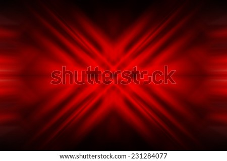 Abstract red fractal background with various - stock photo