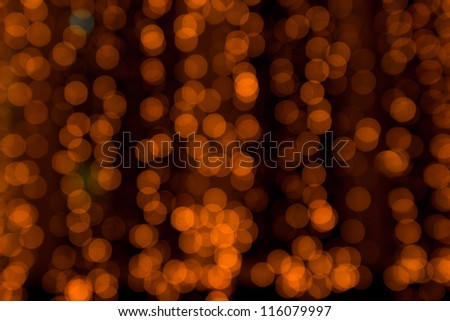 Abstract red lights background - stock photo
