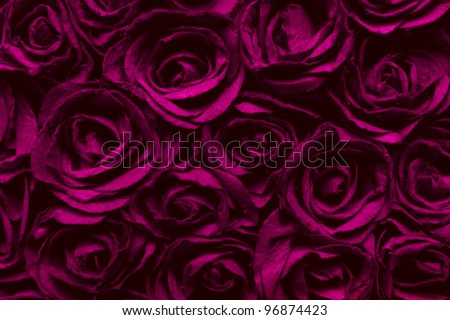abstract red  rose surface texture background - stock photo