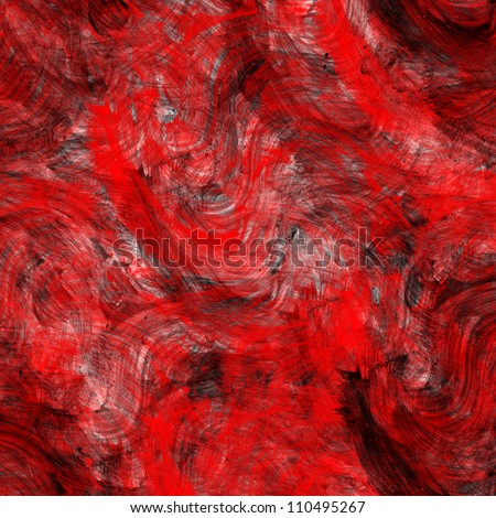 Abstract red watercolor background - stock photo