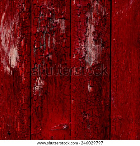 abstract red wooden background texture - stock photo