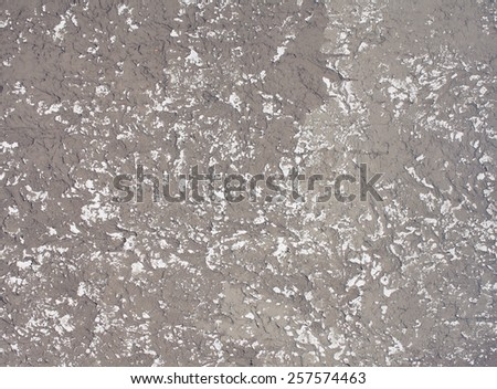Abstract relief shabby gray textured background for design or text - stock photo