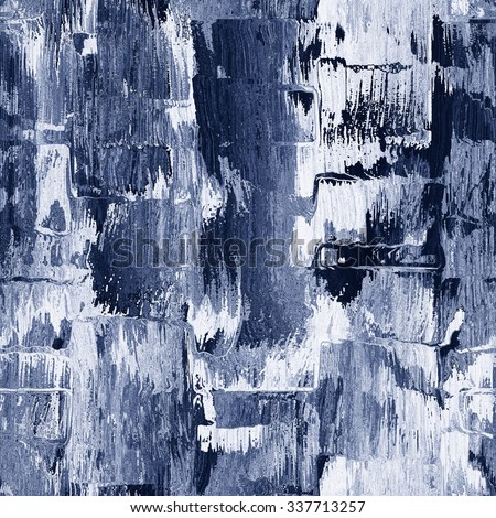 Abstract rough brush strokes grunge background. Seamless pattern. - stock photo