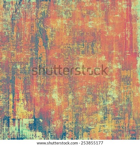 Abstract rough grunge background, colorful texture. With different color patterns: yellow (beige); blue; red (orange); purple (violet) - stock photo