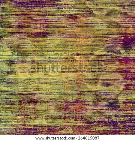 Abstract rough grunge background, colorful texture. With different color patterns: yellow (beige); brown; green; purple (violet) - stock photo
