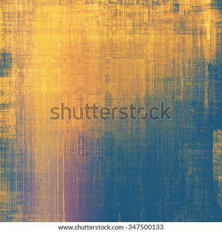 Abstract rough grunge background, colorful texture. With different color patterns: yellow (beige); brown; blue; pink - stock photo