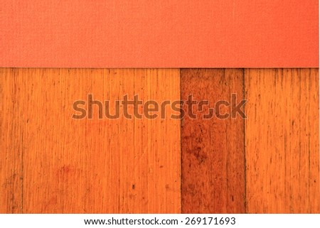 Abstract Rust Color with Timber Background 1 - stock photo