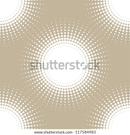 abstract seamless background. halftone (vector version also available in my gallery) - stock photo