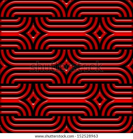Abstract seamless color  pattern - digital artwork - stock photo