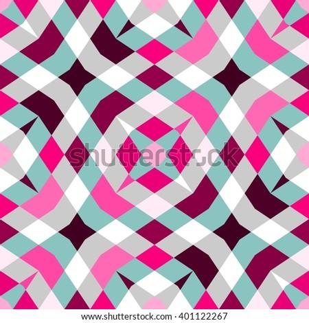 Abstract seamless geometric patterns. Kaleidoscope seamless geometric patterns.  - stock photo