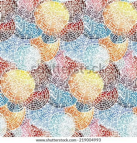 Abstract seamless pattern. - stock photo