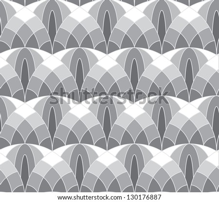 Abstract seamless tale-like pattern - stock photo