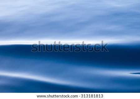 abstract series of waves on the water surface-Seascape - stock photo