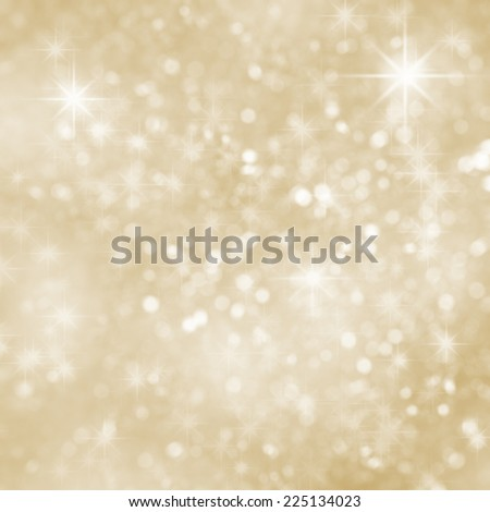 Abstract shining Christmas background with shining sparkles - stock photo
