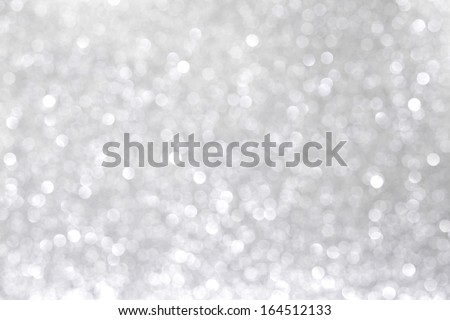 Abstract shiny bright glitter silver background - stock photo